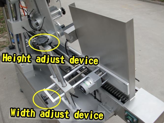 CE гэрчилгээ бүхий бүрэн Автомат лонхны шошго түрхэгч машин