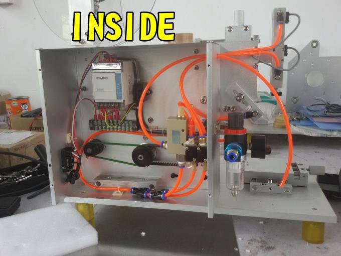 SUS304 Зэвэрдэггүй ган эдийн засгийн шилэн шошгоны зориулалттай давхар хажуугийн наалт шошголох машин