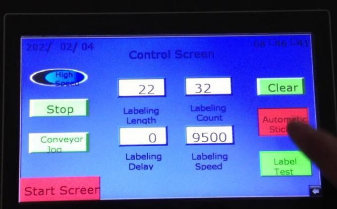 Объект илрүүлэх шидэт нүдийг автомат эргүүлдэг хоёр талт наалт шошголох машин