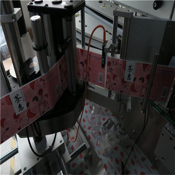 CE дөрвөлжин лонхны шошголох машин автоматжуулсан шошго түрхэгч 5000-8000 B / H