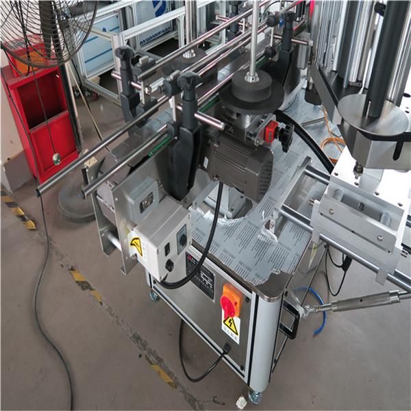 Ундаа / хүнс / химийн зориулалттай 1500W цахилгаан дугуй лонх шошголох машин