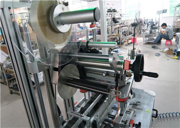 Автомат дээд шошго хийх машин нь конвейер / дээд шошгоны тоног төхөөрөмж бүхий хавтгай гадаргуутай шошго түрхэгч