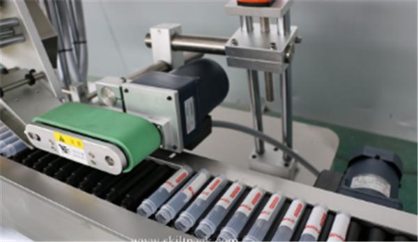 Servo Motor Vial Sticker Labeling Machine Автомат Sitkcer Ampoule Tube