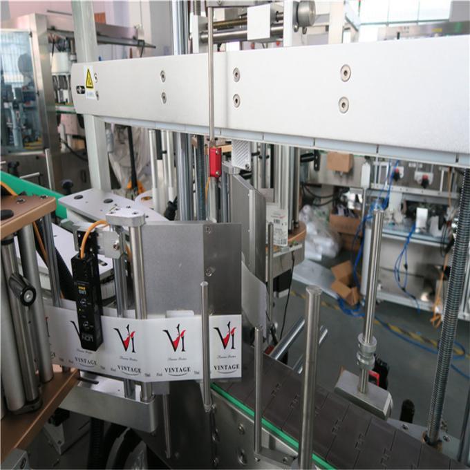 Давхар хажуугийн хуванцар савны хаяг шошгоны машин / Автомат лонхны хаяг