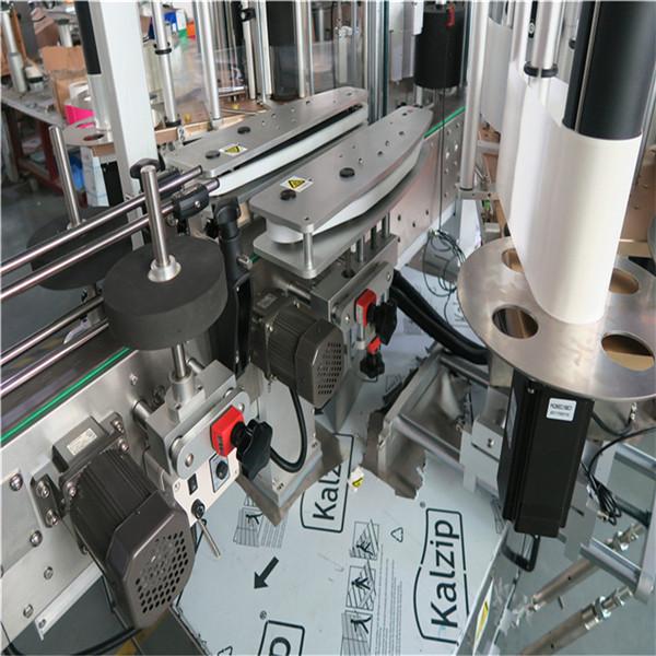 Дөрвөлжин шилний бүрэн автомат шошгоны машин 4000-8000 В / цаг багтаамжтай