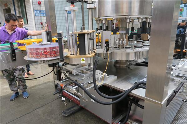 CE Rotary Sticker Labeling Machine нь дан бүрэн автомат лонхны далавчтай