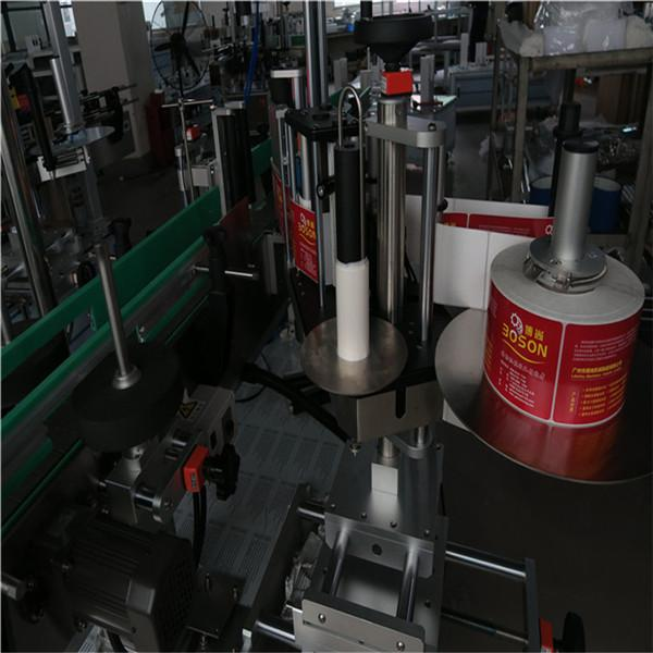Шампунь ба угаалгын нунтаг савны шошгонд зориулсан давхар хажуугийн наалт шошголох машин