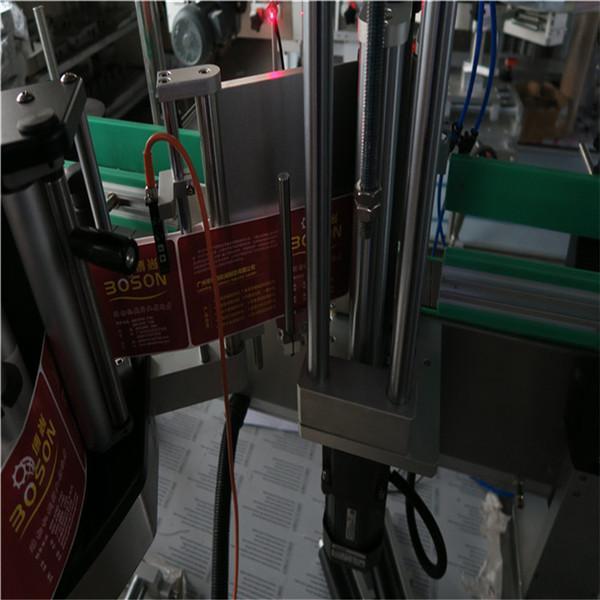 Зууван лонхны шошгоны машин, наалт шошго түрхдэг шампунь ба угаалгын нунтаг шошго