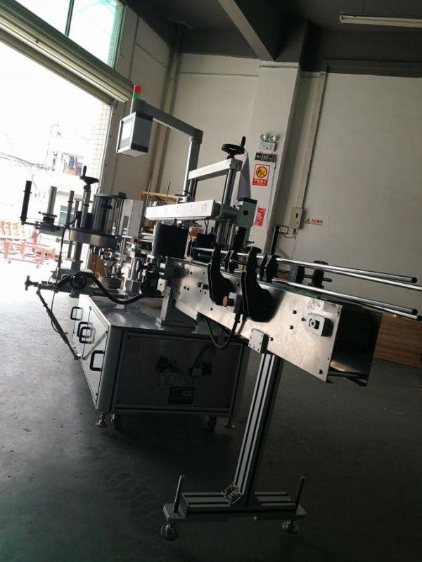 Автомат наалт шошголох машин, лонхонд зориулсан зууван лонхны шошго түрхэх машин