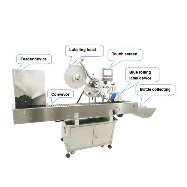 CE гэрчилгээ бүхий бүрэн автомат лонхны шошгыг түрхэх машин