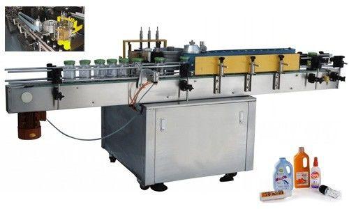 Автомат хүйтэн цавууны шошго түрхэх төхөөрөмжийг дугуй лонхонд тохируулж хийдэг