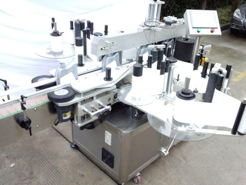 Хятад CE гэрчилгээний автомат лонхны шошгоны тоног төхөөрөмж Шилэн лонх Хоёр талт наалт нийлүүлэгч