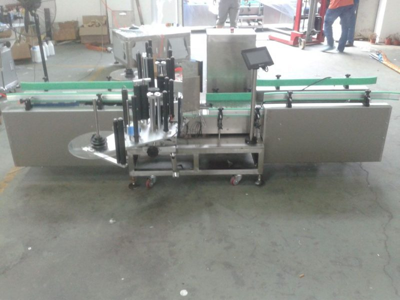 China Intelligent Siemens PLC Control Automatic Label Machine with Collection Surface нийлүүлэгч