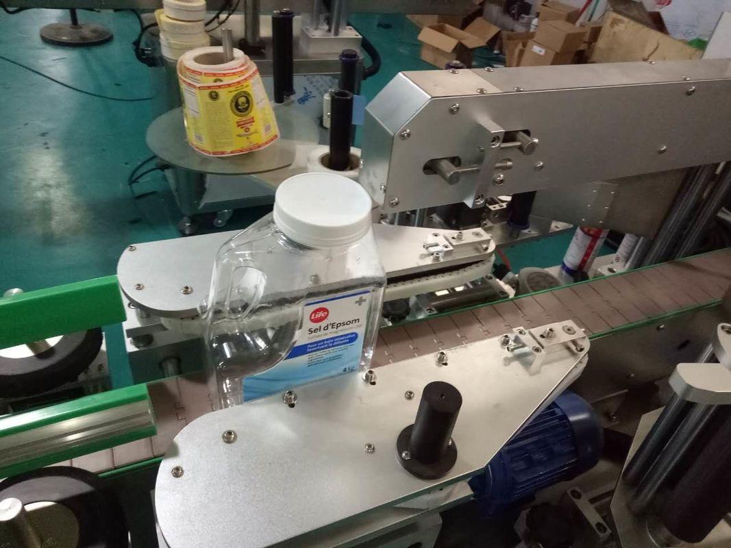 Хувийн асрамжийн бүтээгдэхүүний хоёр талт дөрвөлжин лонхны наалт шошголох машин