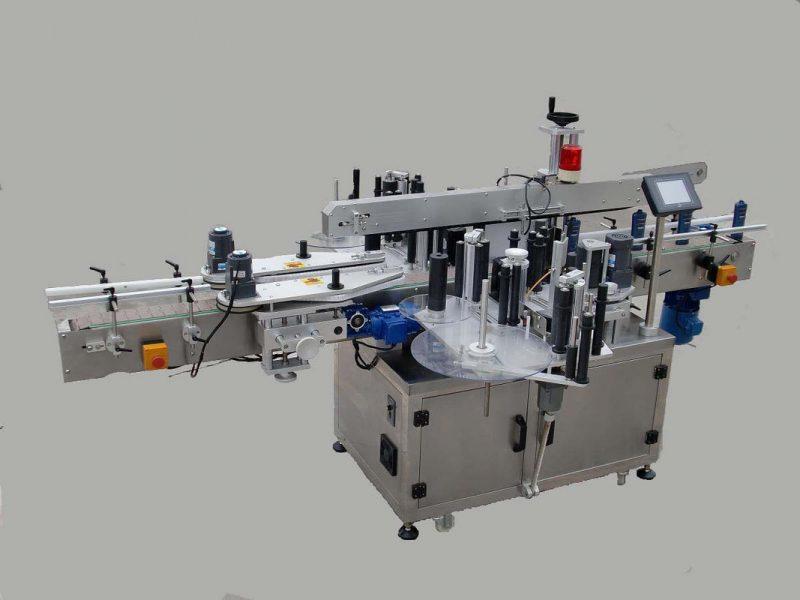 Пейжерийн төхөөрөмж ба кодчилолын машин бүхий хятад шошго автомат Doubel хажуугийн наалт шошголох машин