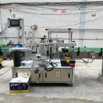 Автомат хоёр талын лонхны шошголох машин наалдамхай шошго наалт шампунь дарс