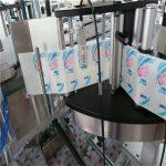 Автомат нэг / хоёр талт зургаан өнцөгт дугуй лонхны наалт шошголох машин