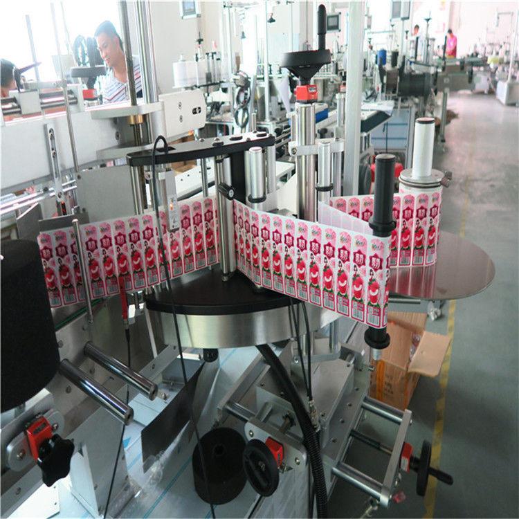 Хятад Олон үйлдэлт тунгалаг автомат наалт шошголох машин 0.1L - 2L хэмжээтэй лонх нийлүүлэгч