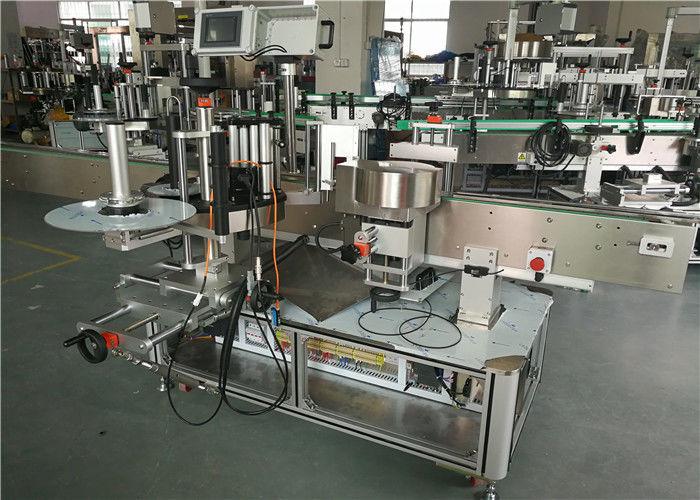 Хятад WT-650GS шампунь зууван лонх нийлүүлэх зориулалттай хоёр талт наалт шошголох машин