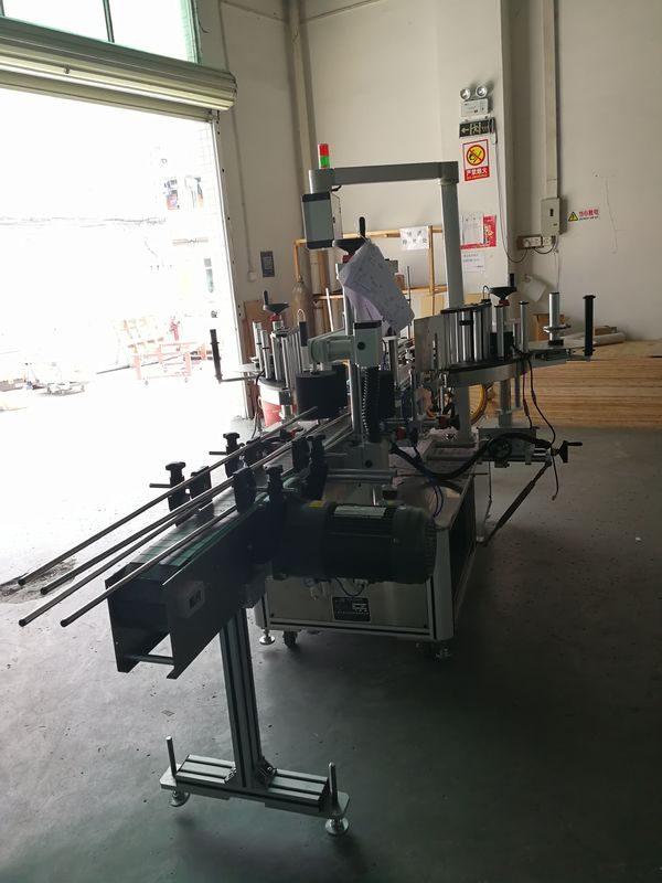 Хятад зууван / тэгш өнцөгт / дөрвөлжин / дугуй лонх дээр наалддаг урд, арын шошгоны машин