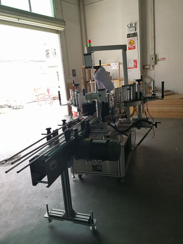 Зууван / тэгш өнцөгт / дөрвөлжин лонхонд наалддаг урд ба арын шошгоны машин