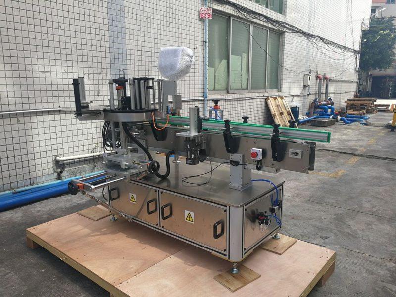 Хятад өөрөө наалддаг автомат дугуй лонхны наалт шошголох машин PLC хяналтын нийлүүлэгч