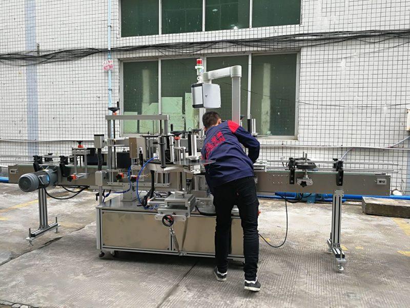 Шил / PET лонх нийлүүлэх зориулалттай Хятад улсын бүрэн автомат усны лонх шошголох машин