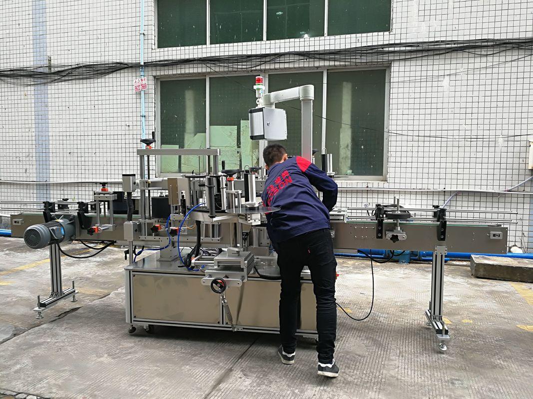 Шил / PET шилэнд бүрэн автомат усны лонх шошголох машин