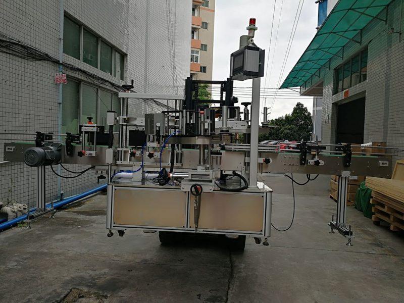 Хятад улс хуванцар сав нийлүүлэгчдэд зориулсан хоёр талт наалдамхай шошгоны машин шошго түрхэгч