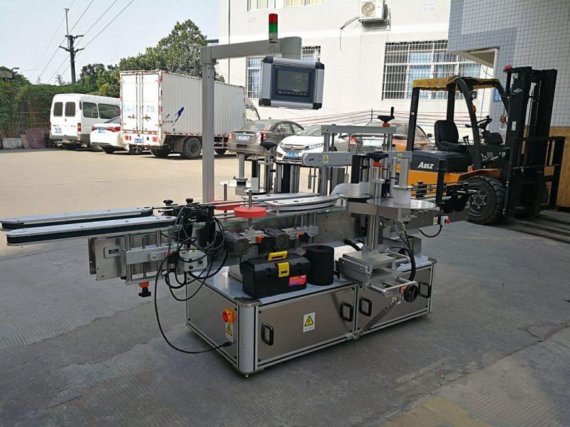 Хятад Шампунь Лонхны хоёр талт наалдамхай шошгоны машин Бүрэн автомат ханган нийлүүлэгч