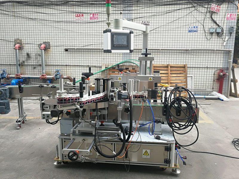 Хятад Өндөр нарийвчлалтай автомат наалт Хоёр талт хавтгай лонхны шошгоны машин урт 2м ханган нийлүүлэгч