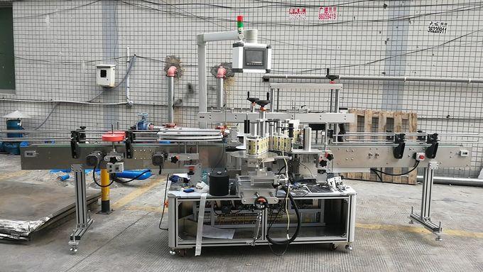 Автомат наалдамхай дөрвөлжин лонхны шошголох машин