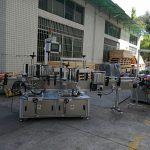 Хавтгай / дөрвөлжин лонхны наалт шошгоны машин Бүрэн автомат 5000-8000B / H багтаамжтай
